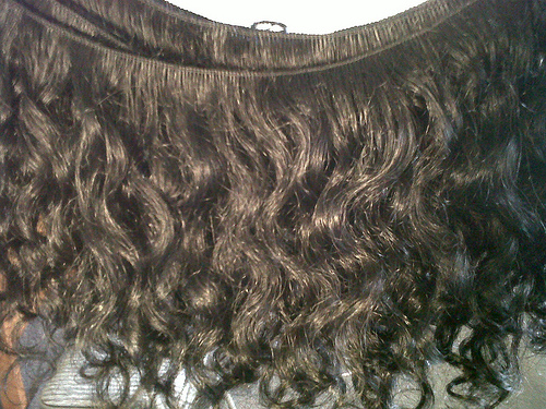 Handtied Curly Virgin Indian Remy Hair